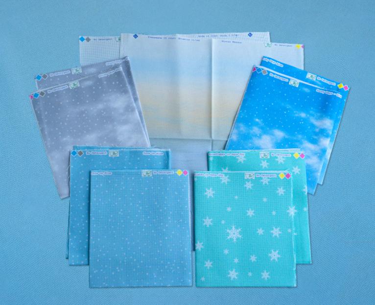 Winter Printed Panels