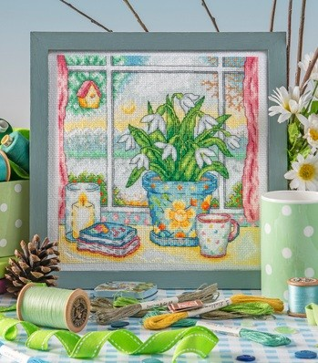 Cross Stitcher Project Pack - A Winter's View - XST353