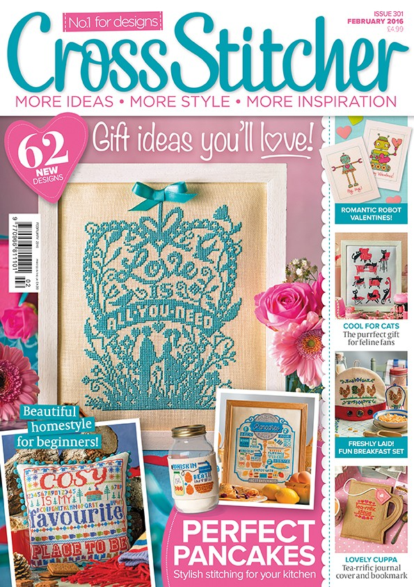 Cross Stitcher Magazine Issue 301 - February 2016