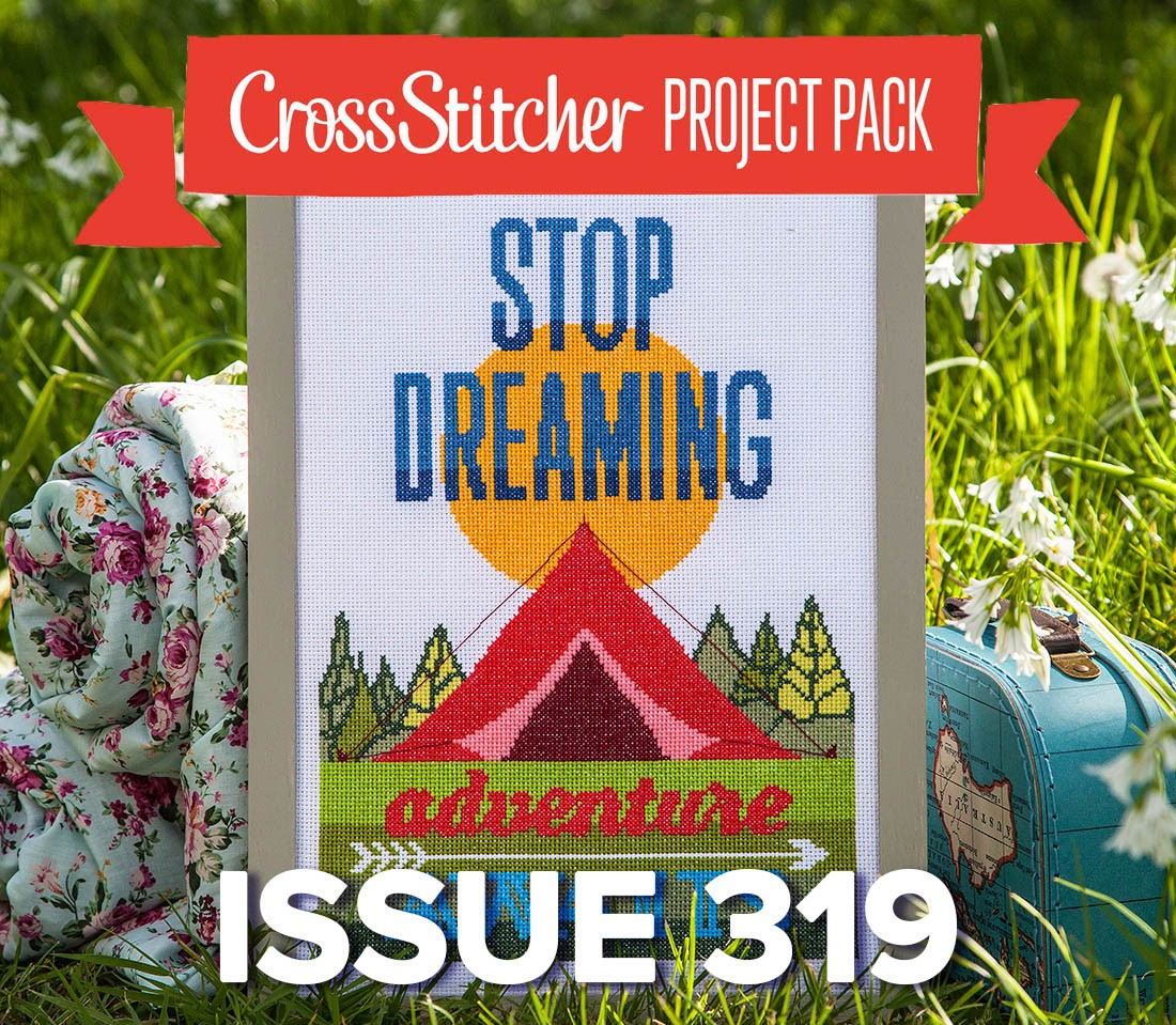 Cross Stitcher Project Pack - Hit the Road Issue 319
