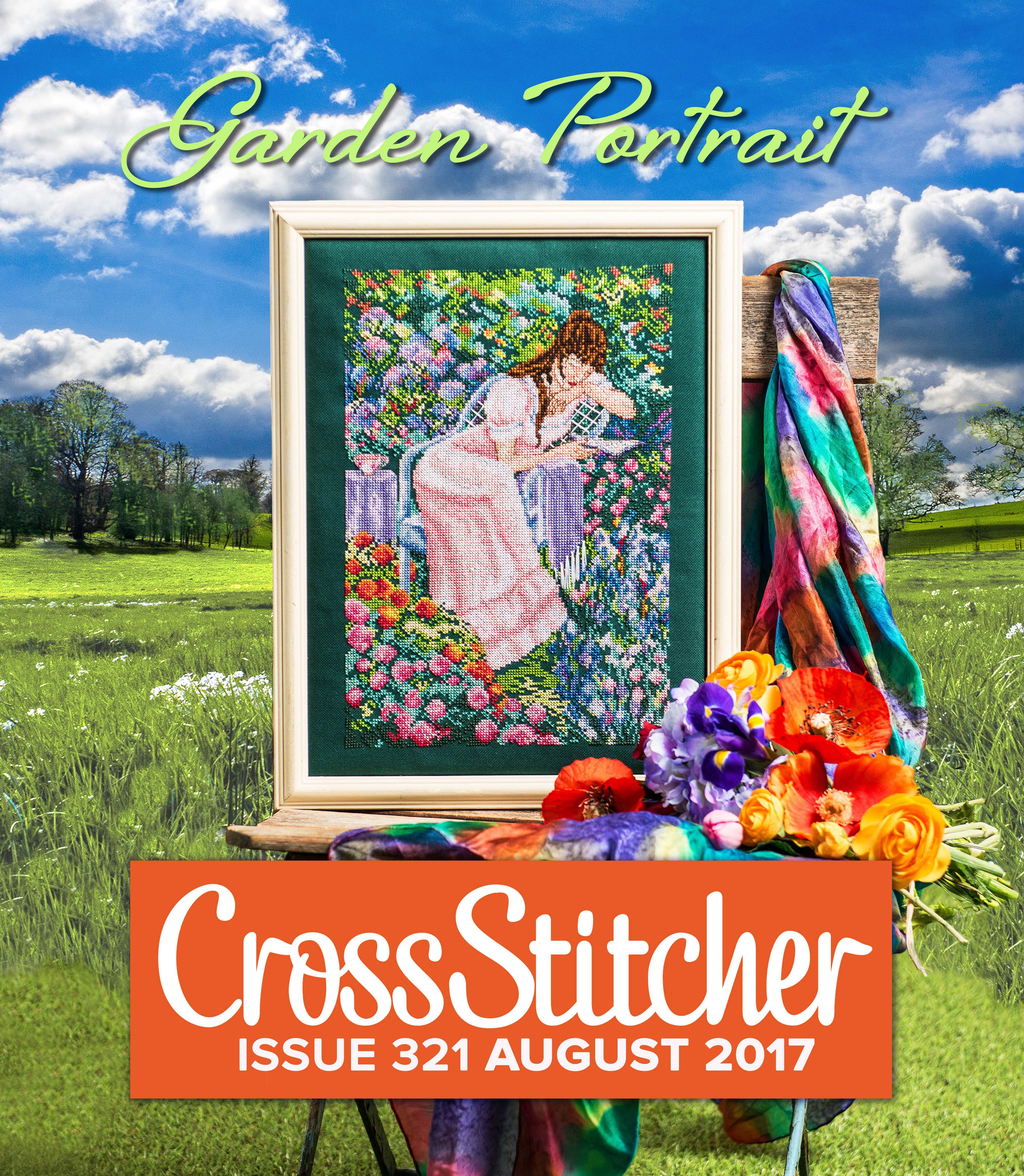 Cross Stitcher Project Pack - Garden Portrait Issue 321