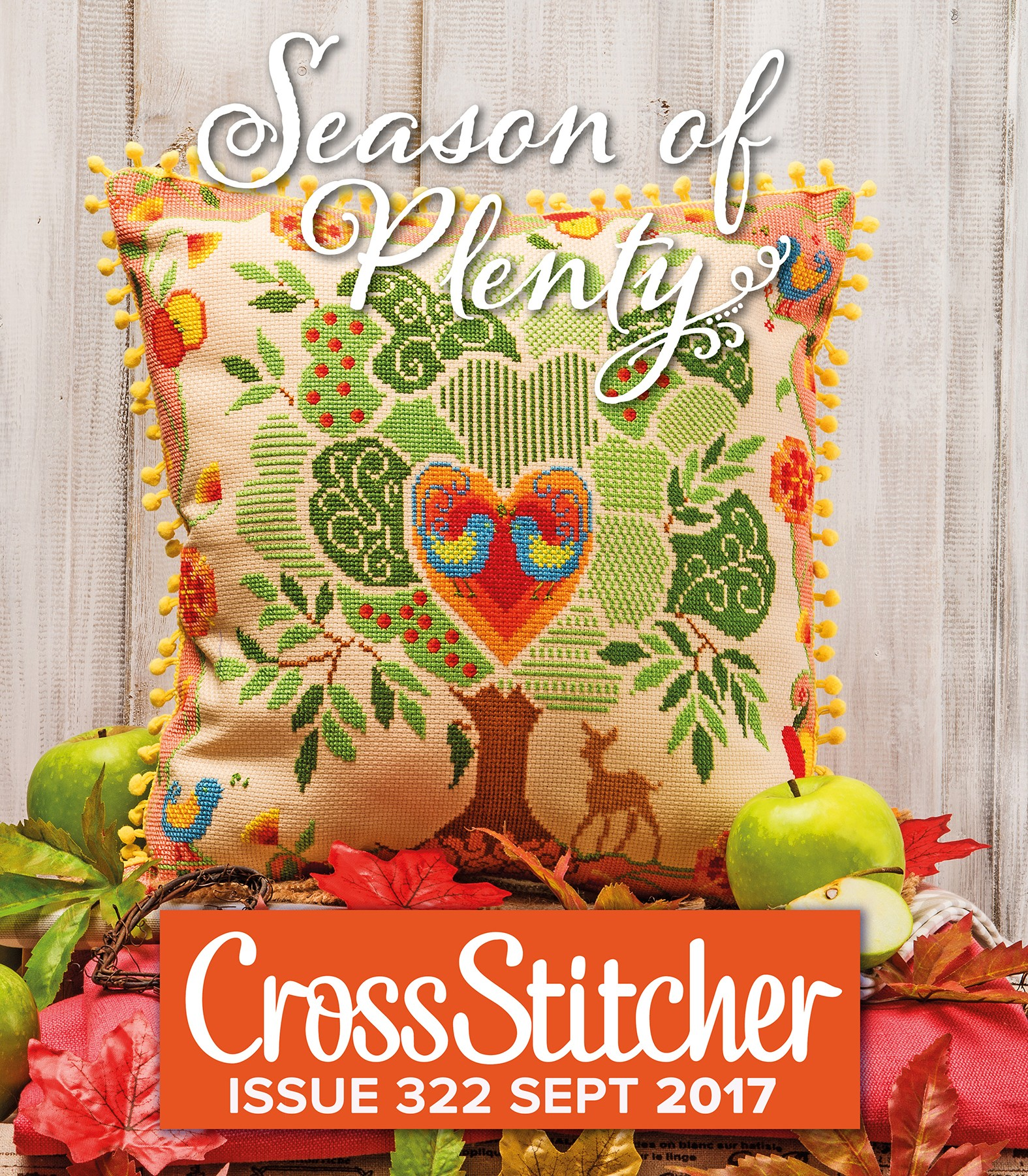 Cross Stitcher Project pack - Season of Plenty issue 322