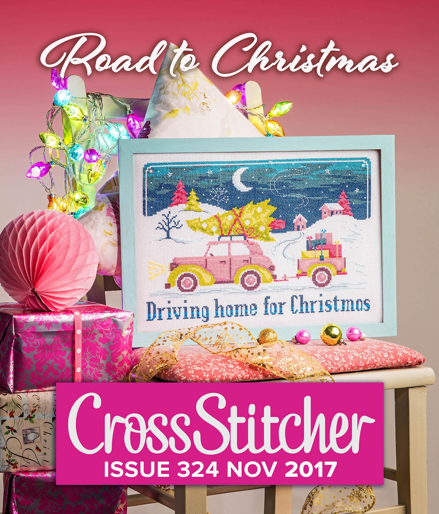 Cross Stitcher Project Pack - Road to Christmas 324