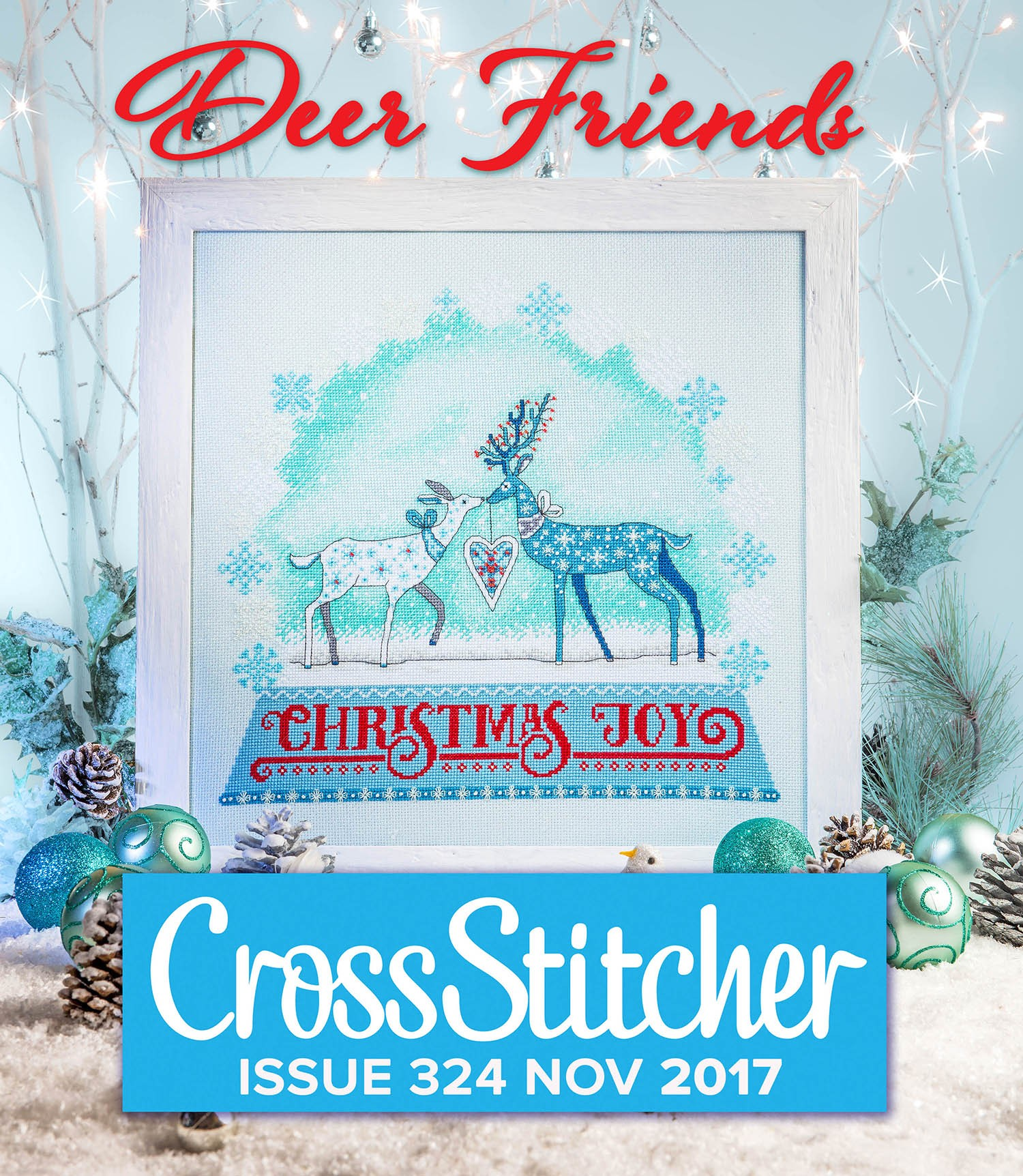 Cross Stitcher Project Pack - Deer Friends 324