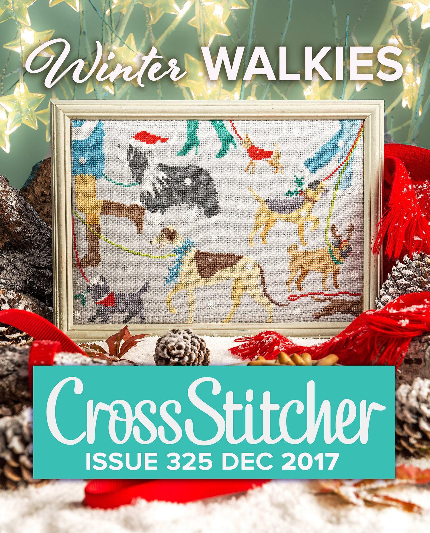 Cross Stitcher Project Pack - Winter Walkies 325