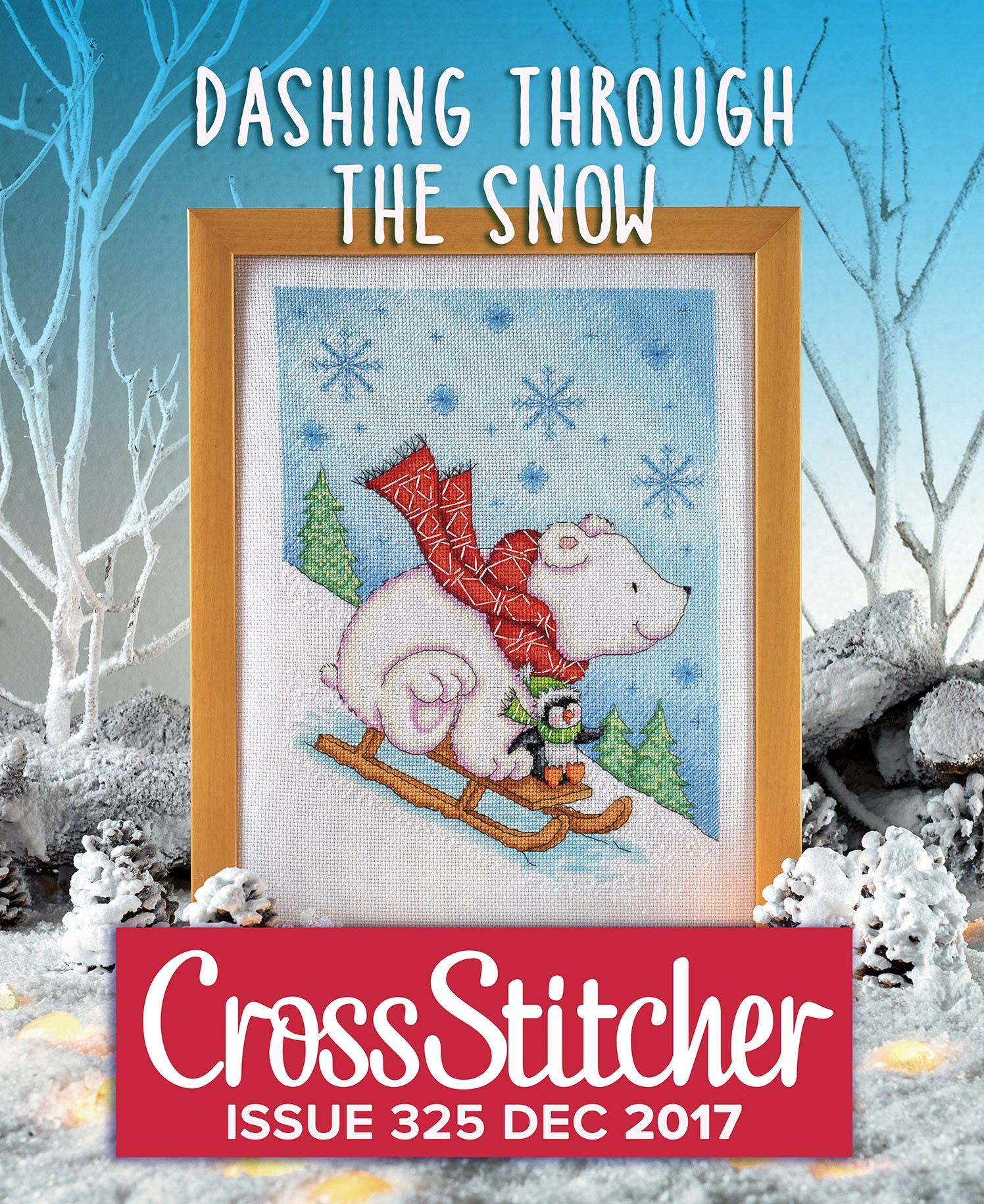Cross Stitcher Project Pack - Dashing Through The Snow 325