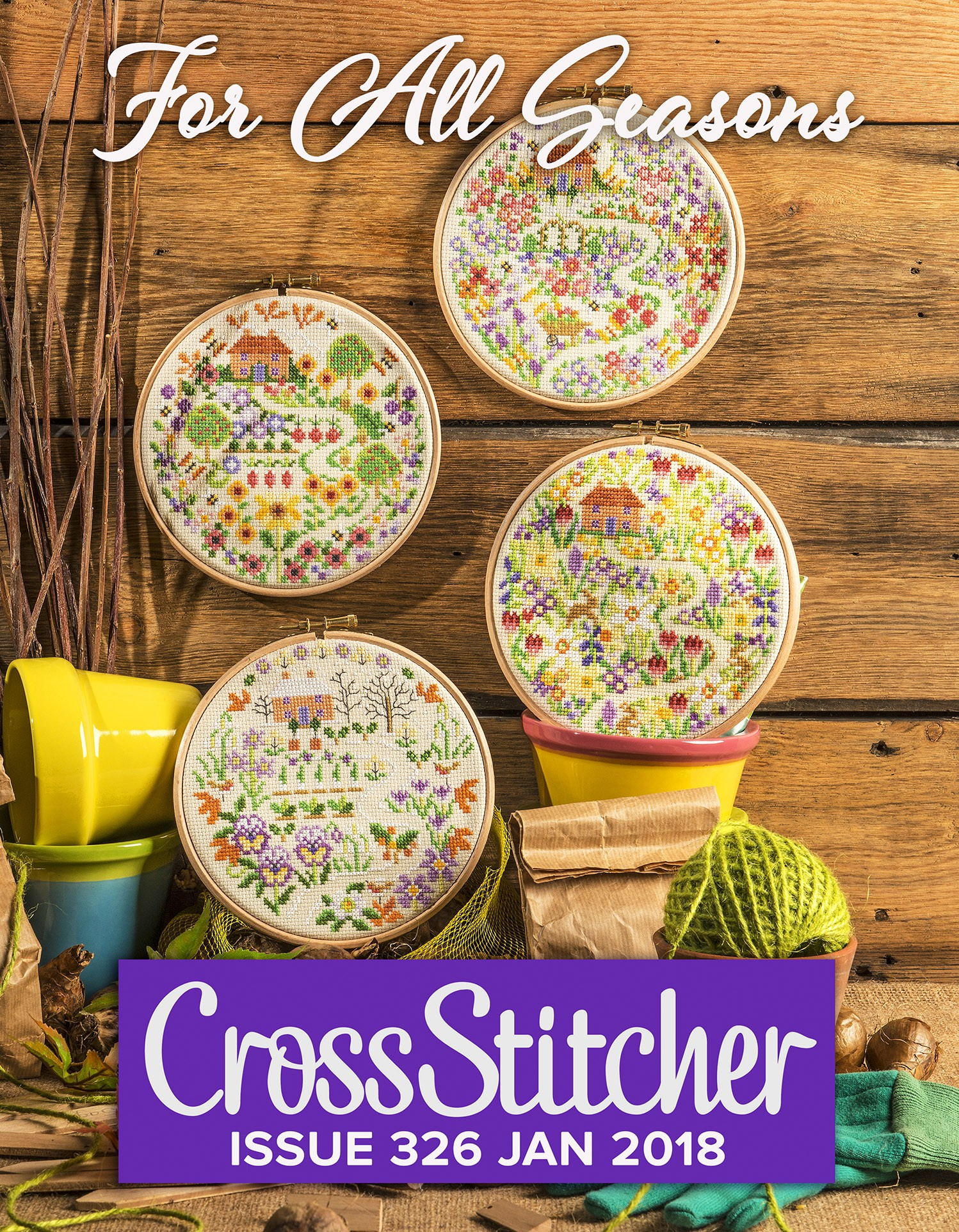Cross Stitcher Project Pack - For All Seasons 326