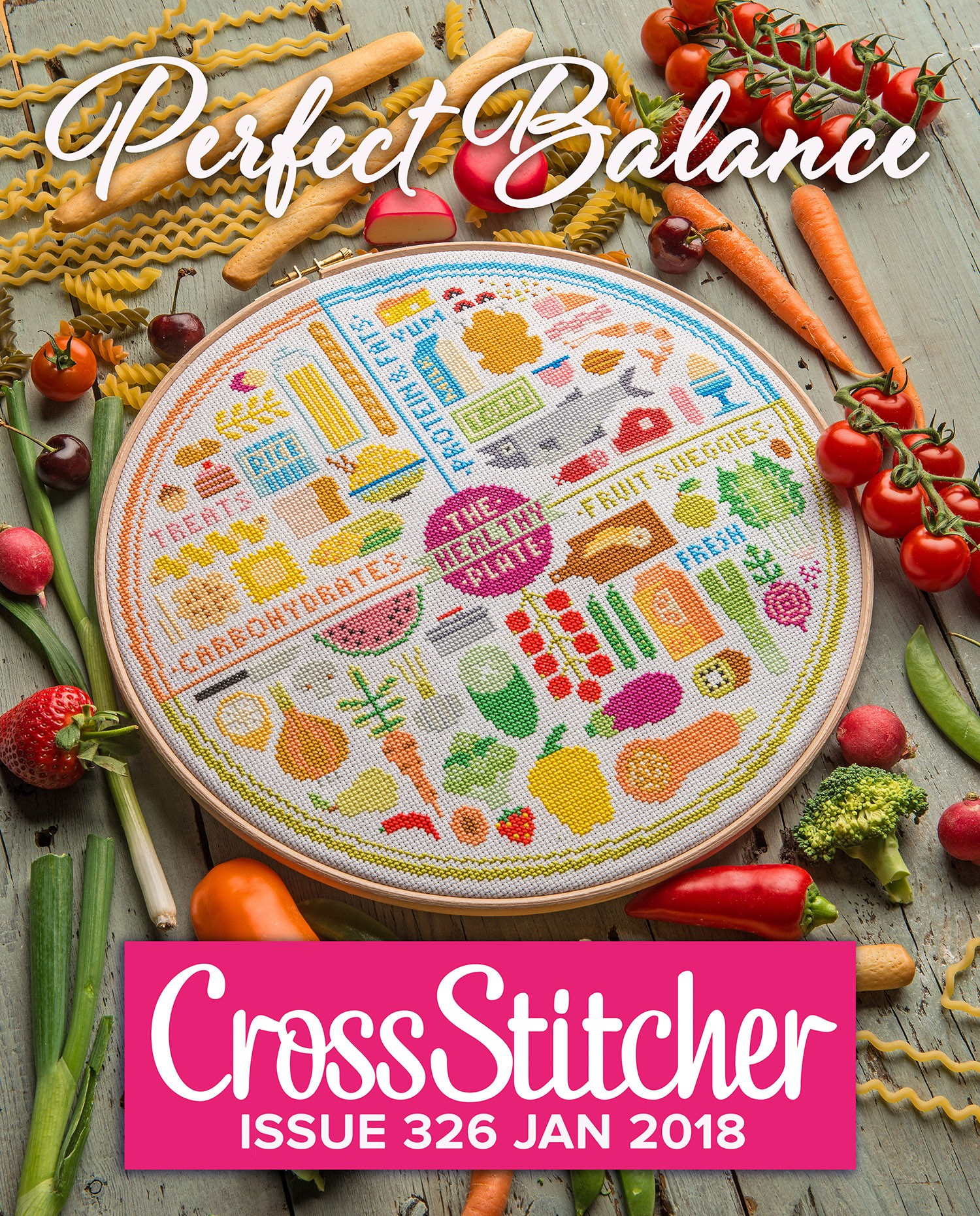 Cross Stitcher Project Pack - Perfect Balance 326