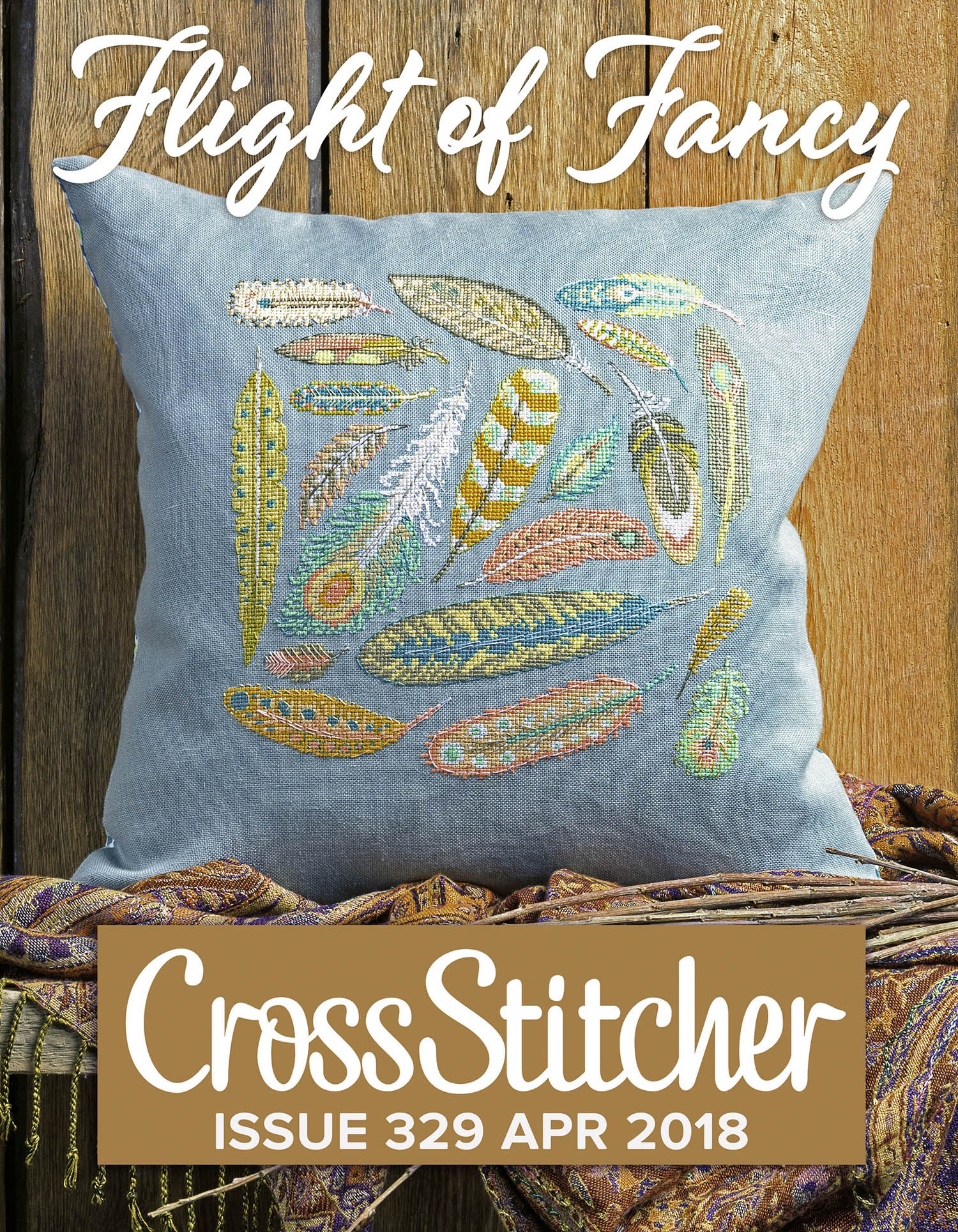 Cross Stitcher Project Pack - Flight of Fancy XST329