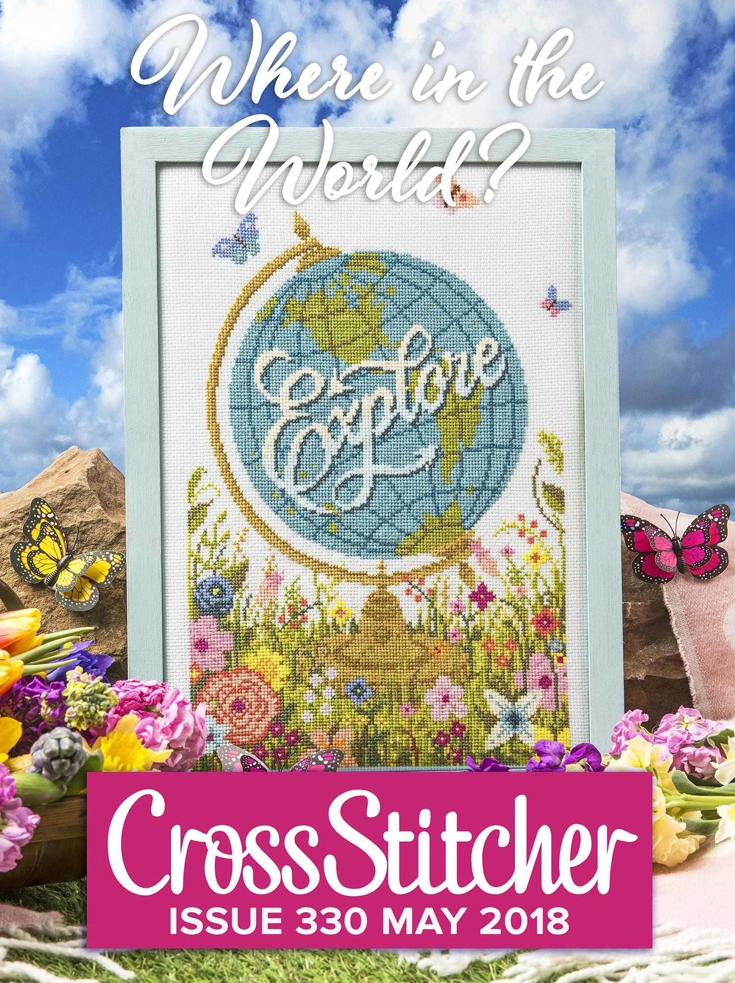 Cross Stitcher Project Pack - Where in the World? Issue 330