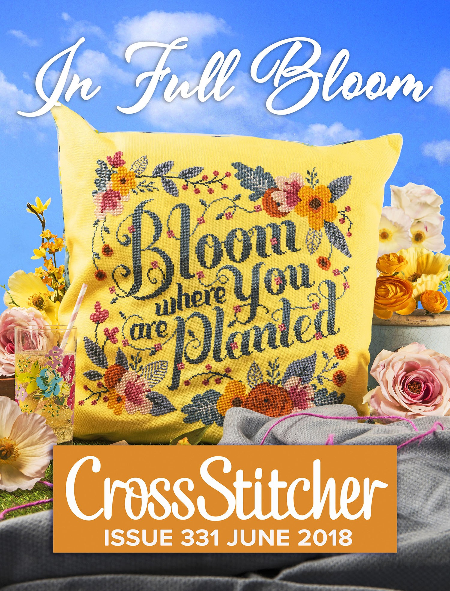 Cross Stitcher Project Pack - In Full Bloom XST331