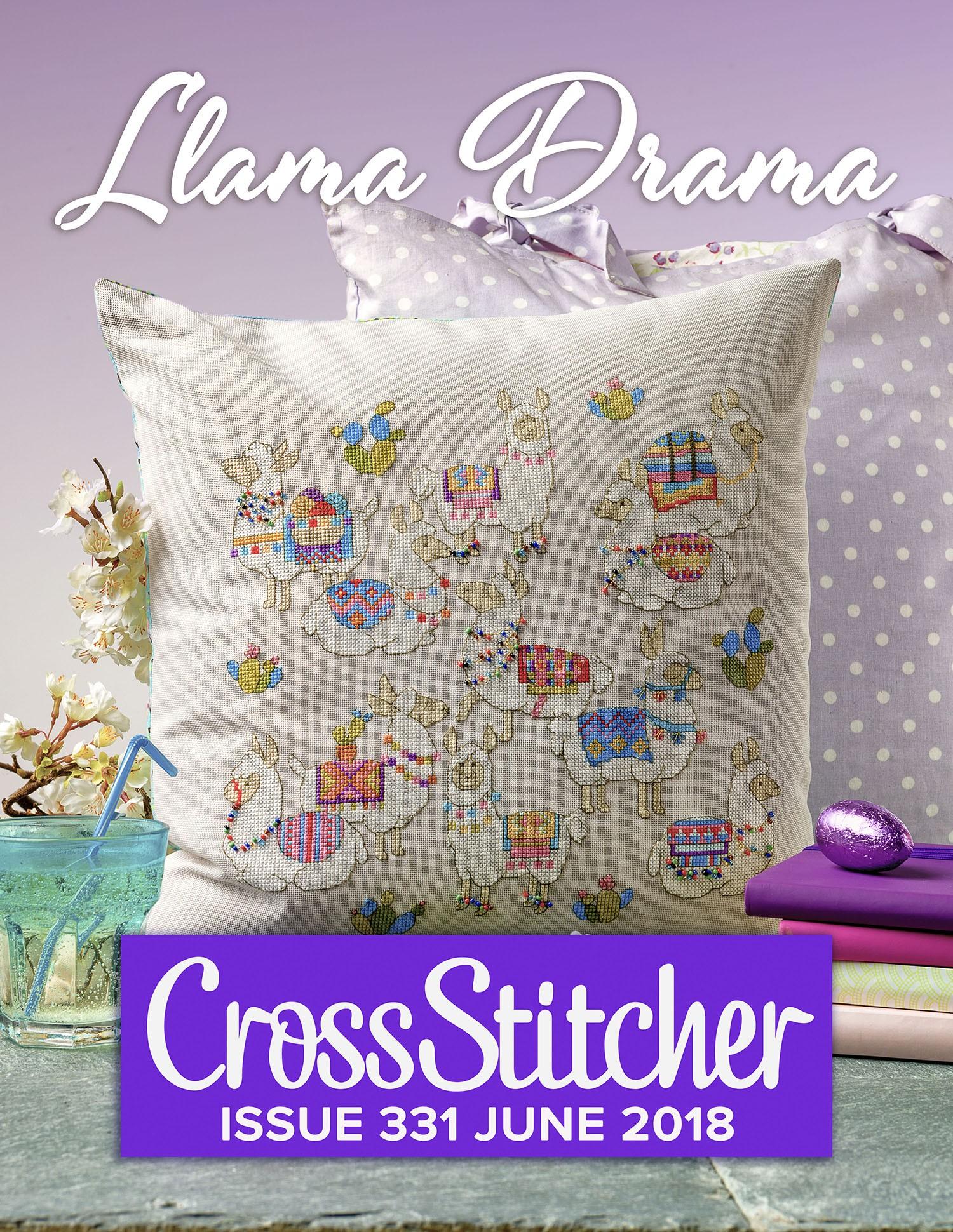 Cross Stitcher Project Pack - Llama Drama XST331