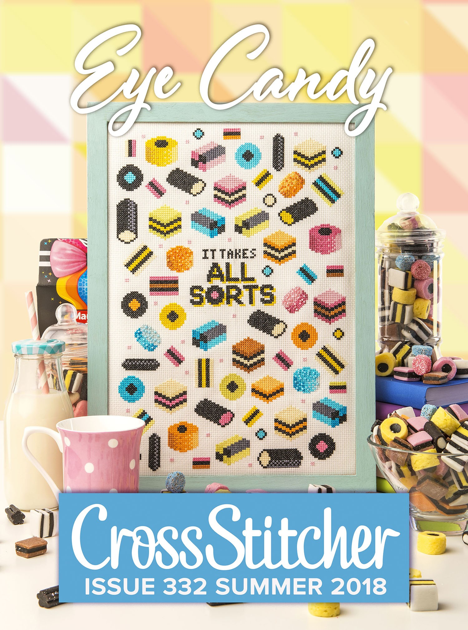 Cross Stitcher Project Pack - Eye Candy XST332