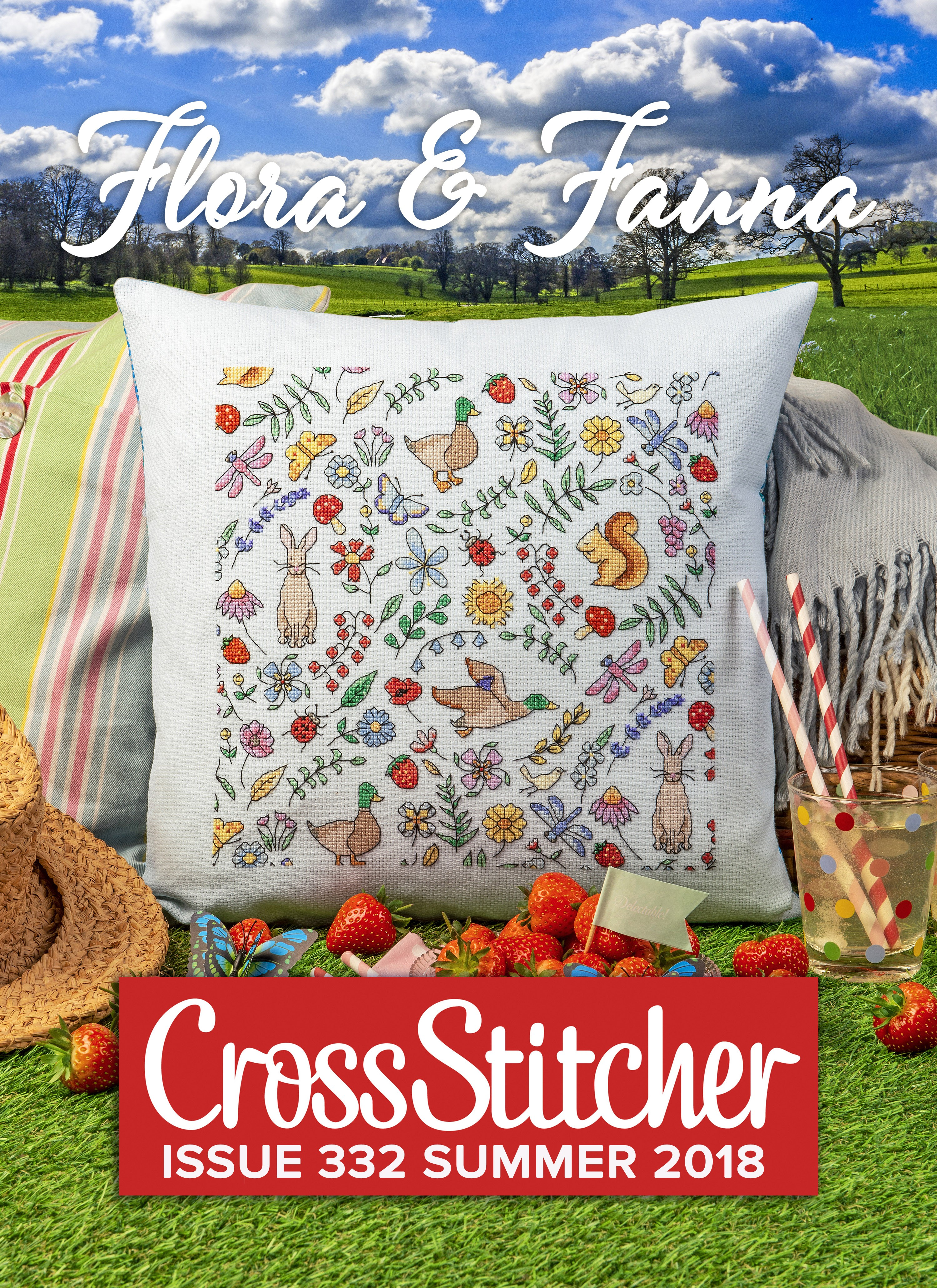 Cross Stitcher Project Pack - Flora & Fauna XST332