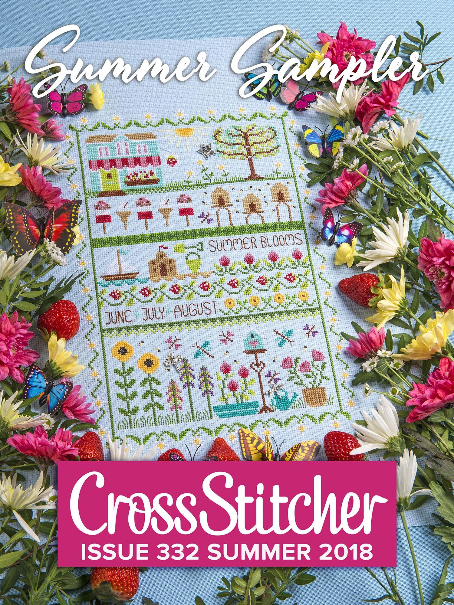 Cross Stitcher Project Pack - Summer Sampler XST332