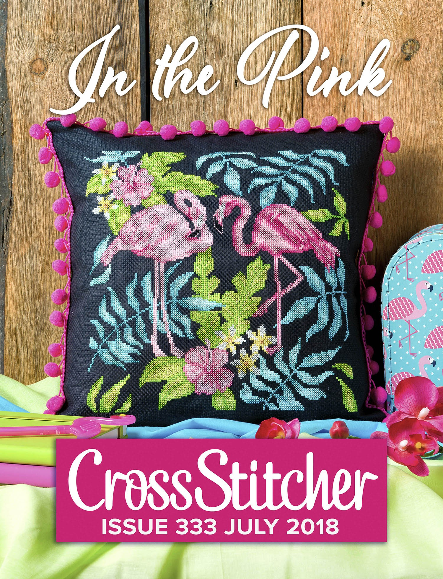 Cross Stitcher Project Pack - In The Pink