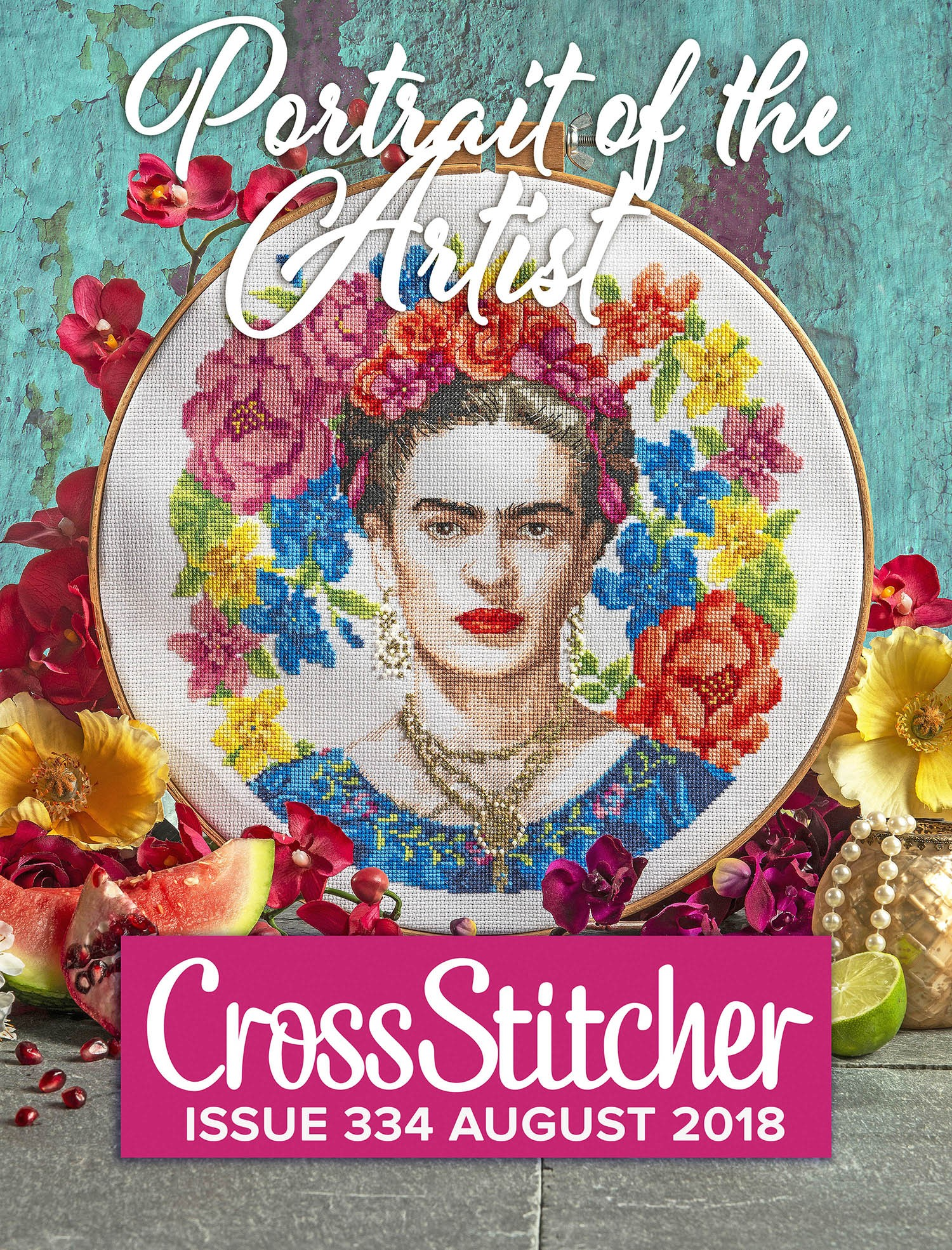 Cross Stitcher Project Pack - Portrait of the Artist