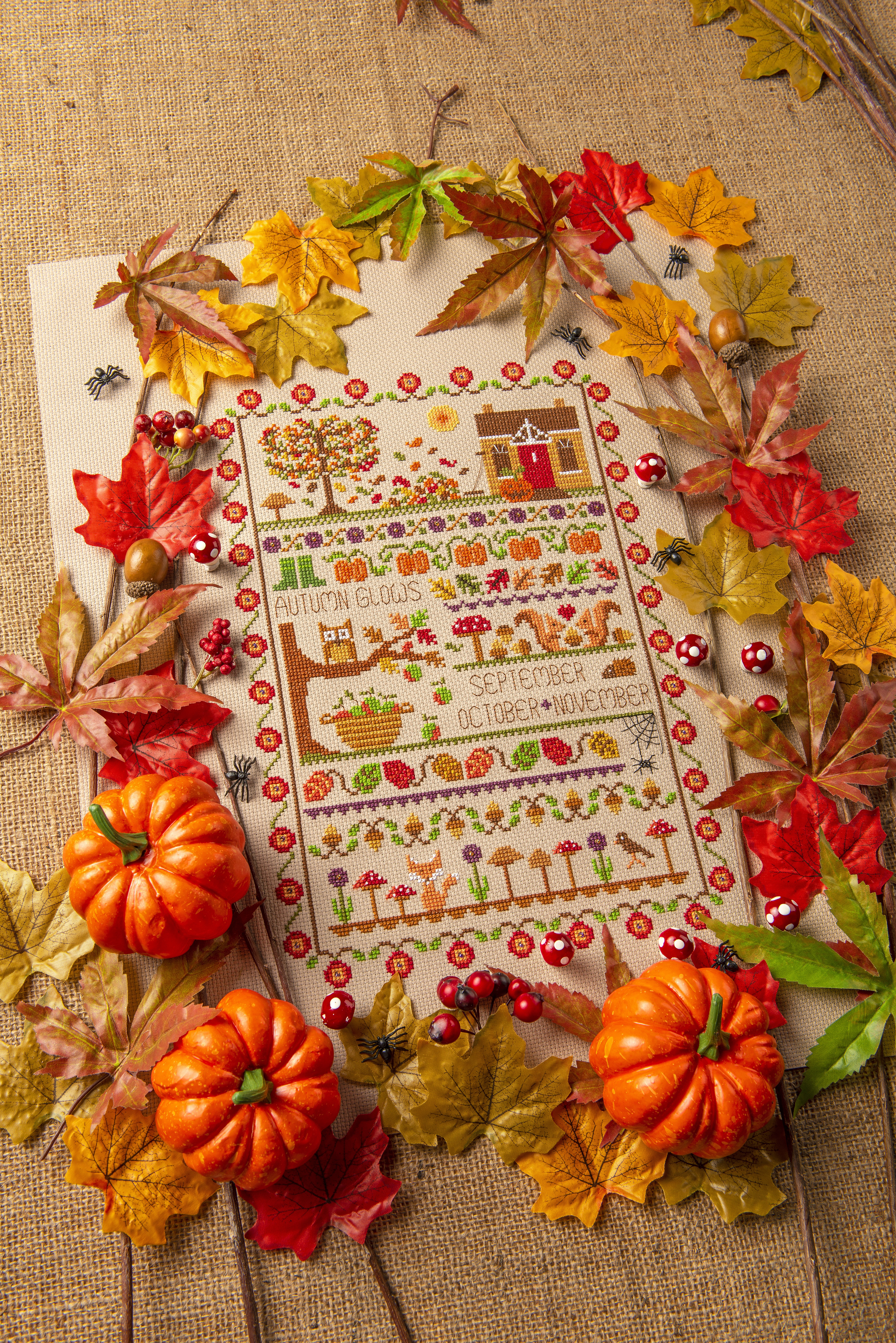 Cross Stitcher Project Pack - Ode To Autumn XST336