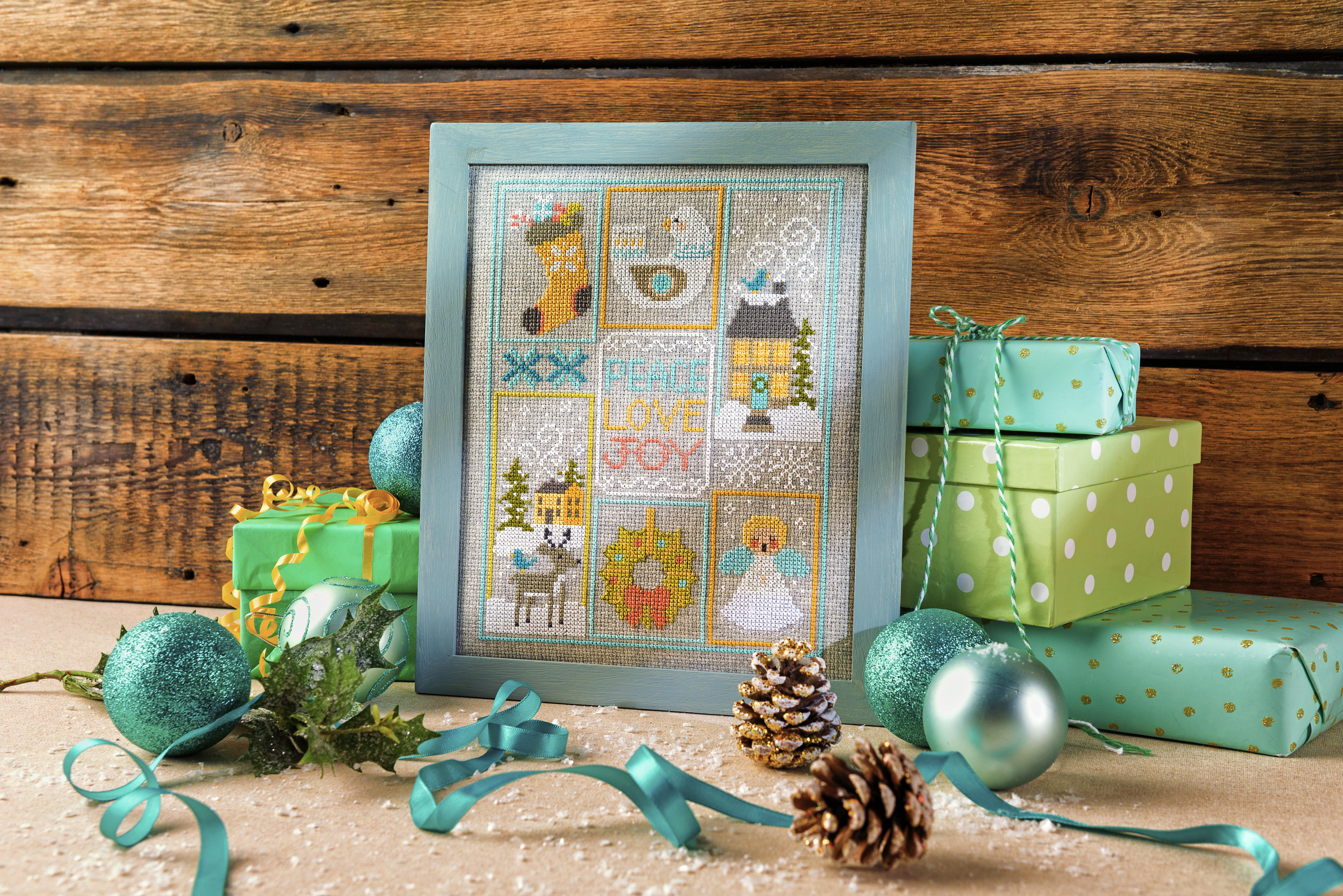 Cross Stitcher Project Pack - Christmas Set XST336