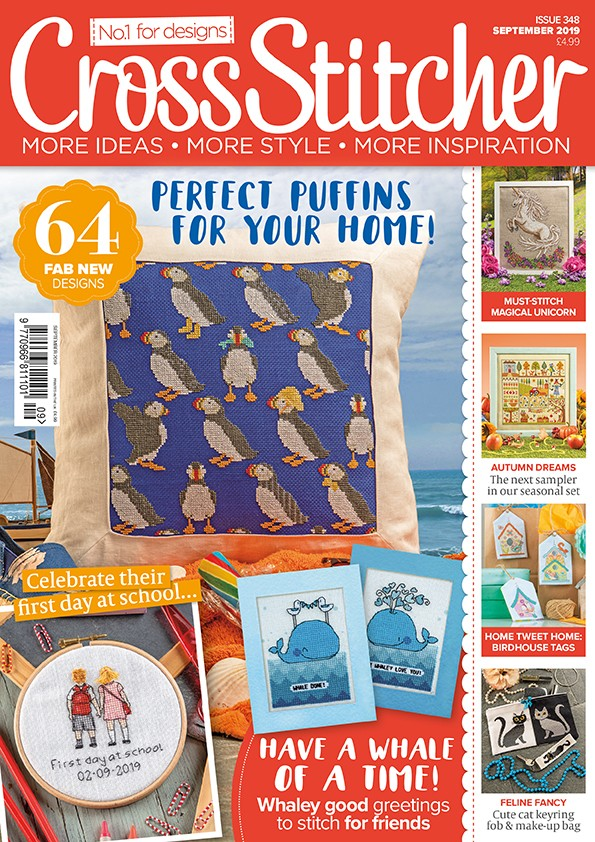 Cross Stitcher Magazine issue 348 - September 2019