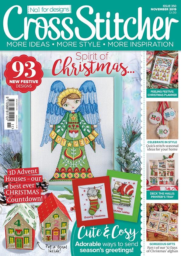 Cross Stitcher Magazine issue 350 - November 2019