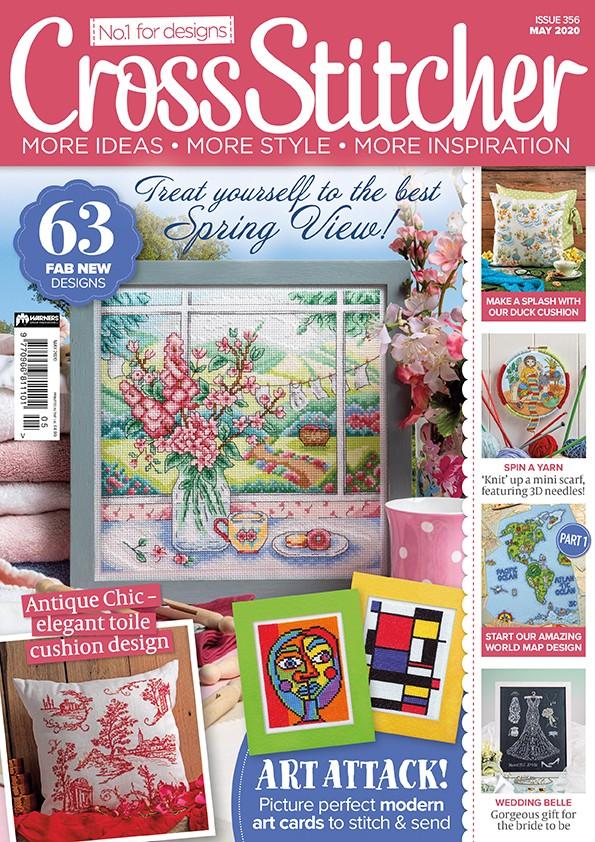 Cross Stitcher Magazine issue 356 May 2020