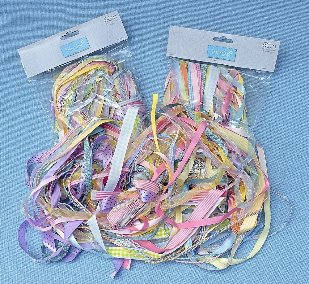 Pastel Ribbon 50 metre bundle