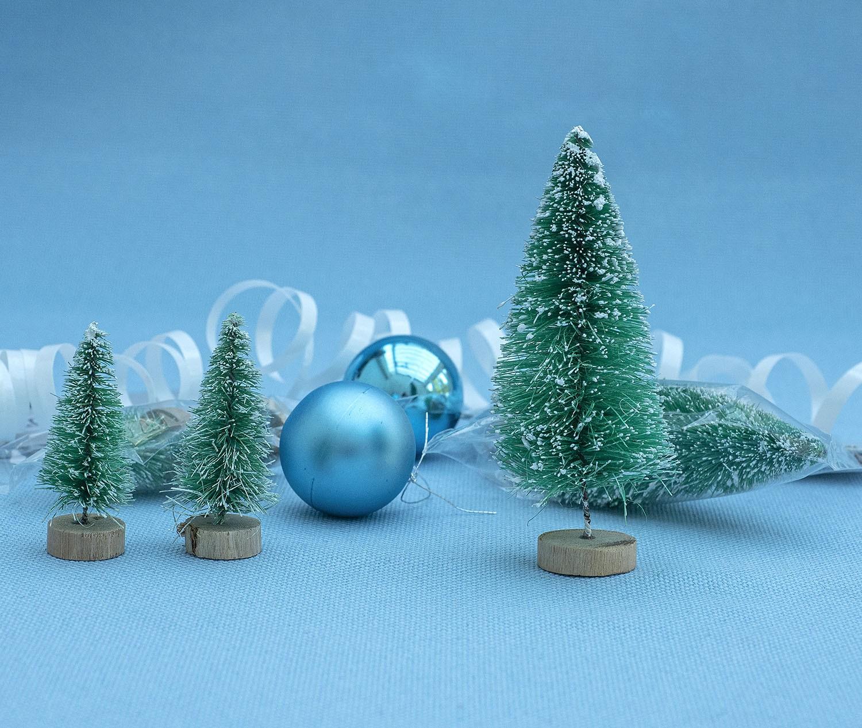 3D Mini Christmas Trees