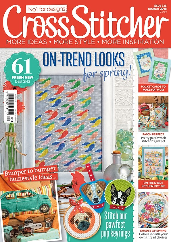 Cross Stitcher Magazine Issue 328 - March 2018