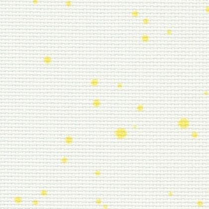 18 Count Aida Yellow Splash