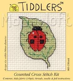 Mouseloft Ladybird on Leaf - 003-C01sml