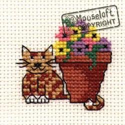 Mouseloft Flowerpot Cat - 004-624stl