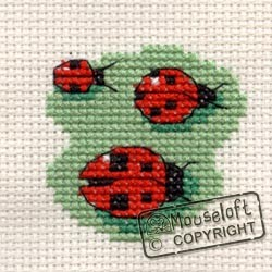 Mouseloft Three Ladybirds - 004-C06stl