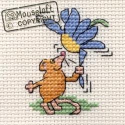 Mouseloft Flower Mouse - 004-C07stl