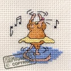 Mouseloft Ballet Mouse - 004-C08stl