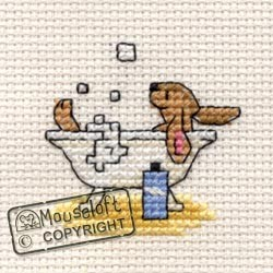 Mouseloft Bathing Bunny - 004-C09stl