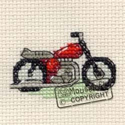 Mouseloft Red Motorbike - 004-G08stl