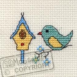Mouseloft Bird & Birdhouse - 004-J06stl