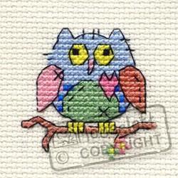 Mouseloft Patchwork Owl - 004-K03stl