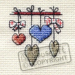 Mouseloft Dangling Hearts - 004-K04stl