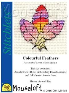 Mouseloft Colourful Feathers - 004-M14stl