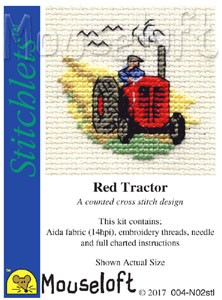 Mouseloft Red Tractor - 004-N02stl