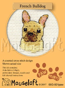 Mouseloft French Bulldog - 00G-001paw
