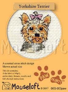 Mouseloft Yorkshire Terrier - 00G-003paw