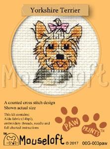 Mouseloft Yorkshire Terrier - 00G-003paw