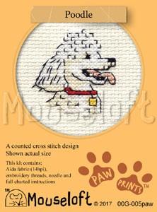 Mouseloft Poodle - 00G-005paw