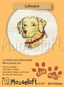 Mouseloft Labrador - 00G-006paw
