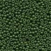 Glass Seed Beads 02094 - Opaque Moss