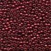 Antique Glass Beads 03003 - Antique Cranberry