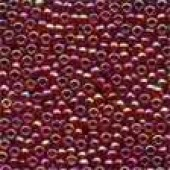 Antique Glass Beads 03048 - Cinnamon Red
